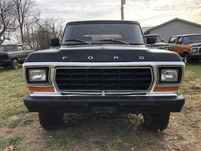 Ford Bronco Freewheeling >> 1979 Ford Bronco 4x4 with RARE Freewheeling package - Classic Ford Bronco 1979 for sale