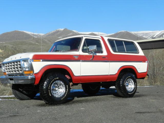 1979 Ford Bronco Ranger Xlt F150 4x4 50 Pics Rare