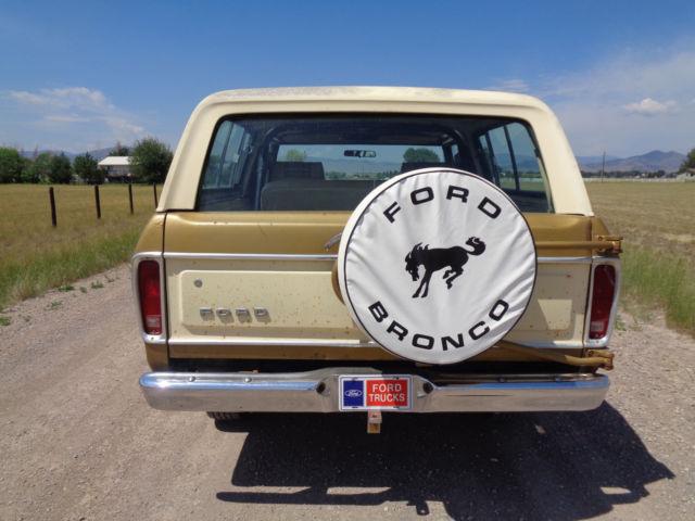 1979 Ford Bronco Ranger Xlt Survivor Loaded Every Option 2