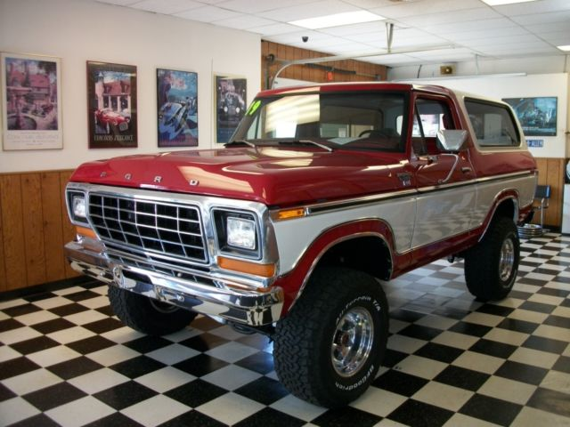 F150 6 Inch Lift >> 1979 Ford Bronco XLT 4 inch lift Like New - Classic Ford ...