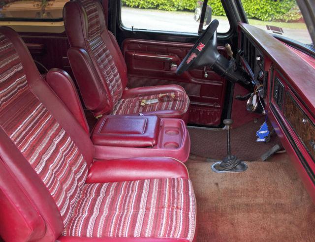 1979 Bronco Interior Dolgular