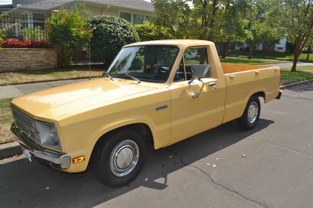 Old Pickups For Sale >> 1979 Ford Courier Pickup West Coast truck all Original and Immaculate Condition - Classic Ford ...