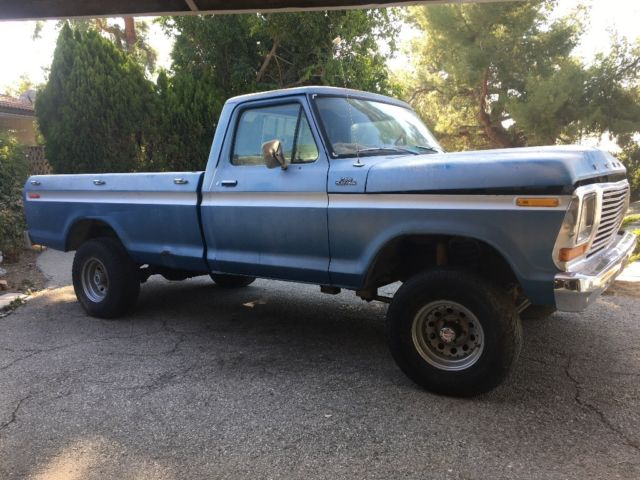 1979 Ford F-150 4x4 With Rare Factory Front And Rear Limited Slip Axles