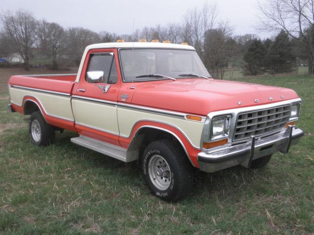 1979 Ford F 150 Ranger Xlt Standard Cab Pickup 2 Door 4 9l