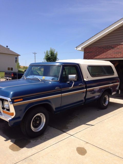 1979 Ford F-250 Custom 4x2 with Explorer Package - Classic ...