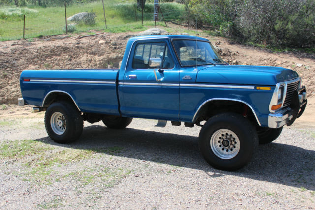 1979 ford f 250 ranger 4x4 4wd classic ford f 250 1979 for sale. Black Bedroom Furniture Sets. Home Design Ideas
