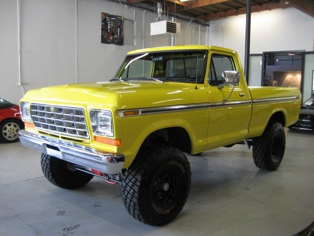 1979 ford f100 4x4 custom build truck 351 w classic ford f 100 1979 for sale. Black Bedroom Furniture Sets. Home Design Ideas