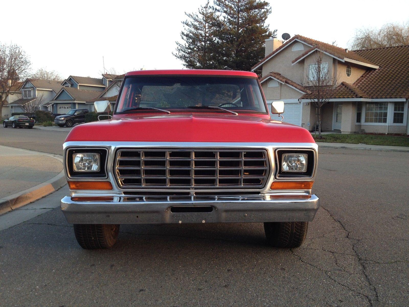 1979 Ford F100 Step Side Very Rare California No Rust Reserve 1955 Prevnext