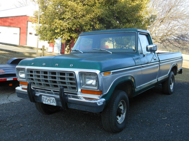 1979 ford f150 4x4 pickup truck classic ford f 150 1979 for sale. Black Bedroom Furniture Sets. Home Design Ideas