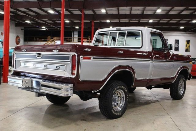 1979 ford f150 81742 miles burgundy pickup truck v8 manual classic ford f 150 1979 for sale. Black Bedroom Furniture Sets. Home Design Ideas