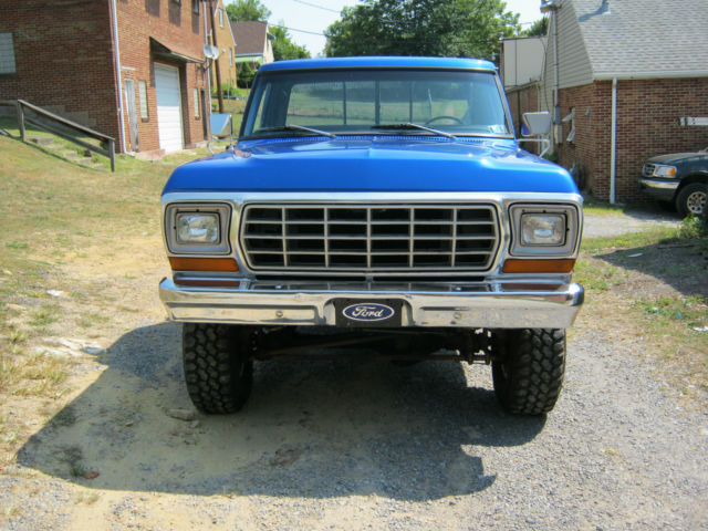 1979 Ford F150 Shortbed 4x4 Restored Classic Ford F 150