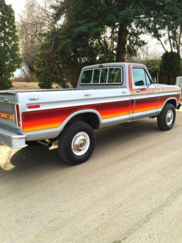 1979 Ford F250 4x4 Free Wheeling 37,000 Orig Miles None ...