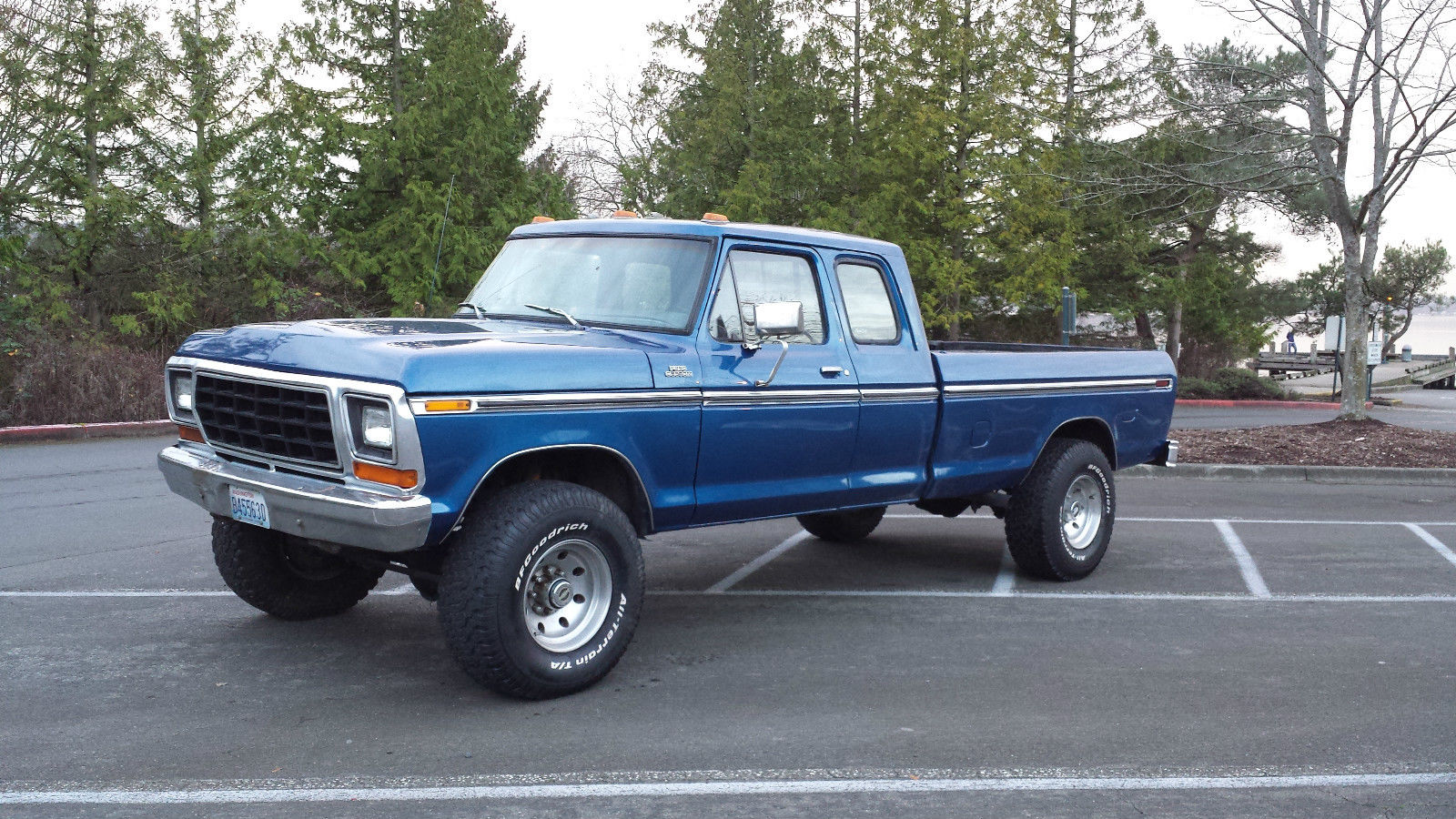 1979 Ford F250 4x4 Super Cab - Classic Ford F-250 1979 for sale
