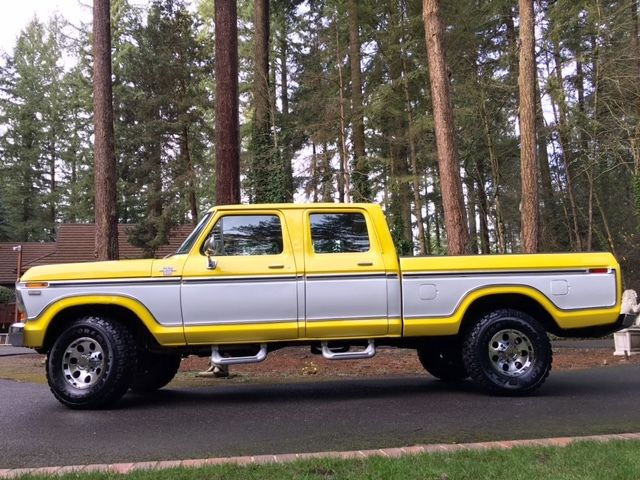 1979 ford f250 ranger xlt lariat crew cab highboy 4x4 factory a c rust free classic ford f 250. Black Bedroom Furniture Sets. Home Design Ideas