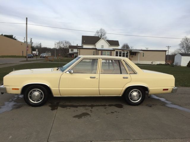 1979 Ford Fairmont 79652 Miles Six Cyl Auto Transmission