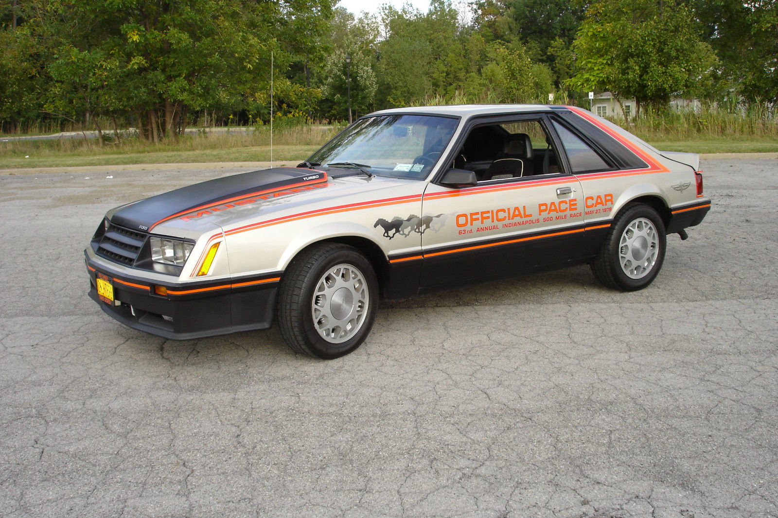 1979 Ford Mustang Turbo Engine 2.3 Modify