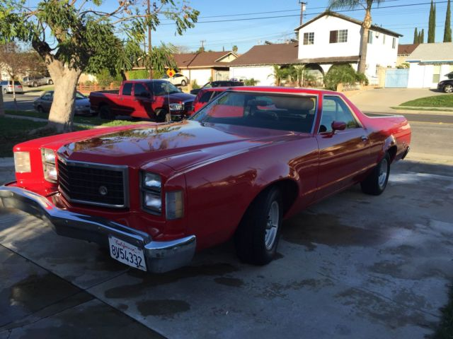 1979 Ford Ranchero V8 Engine 351 Automatic Transmission