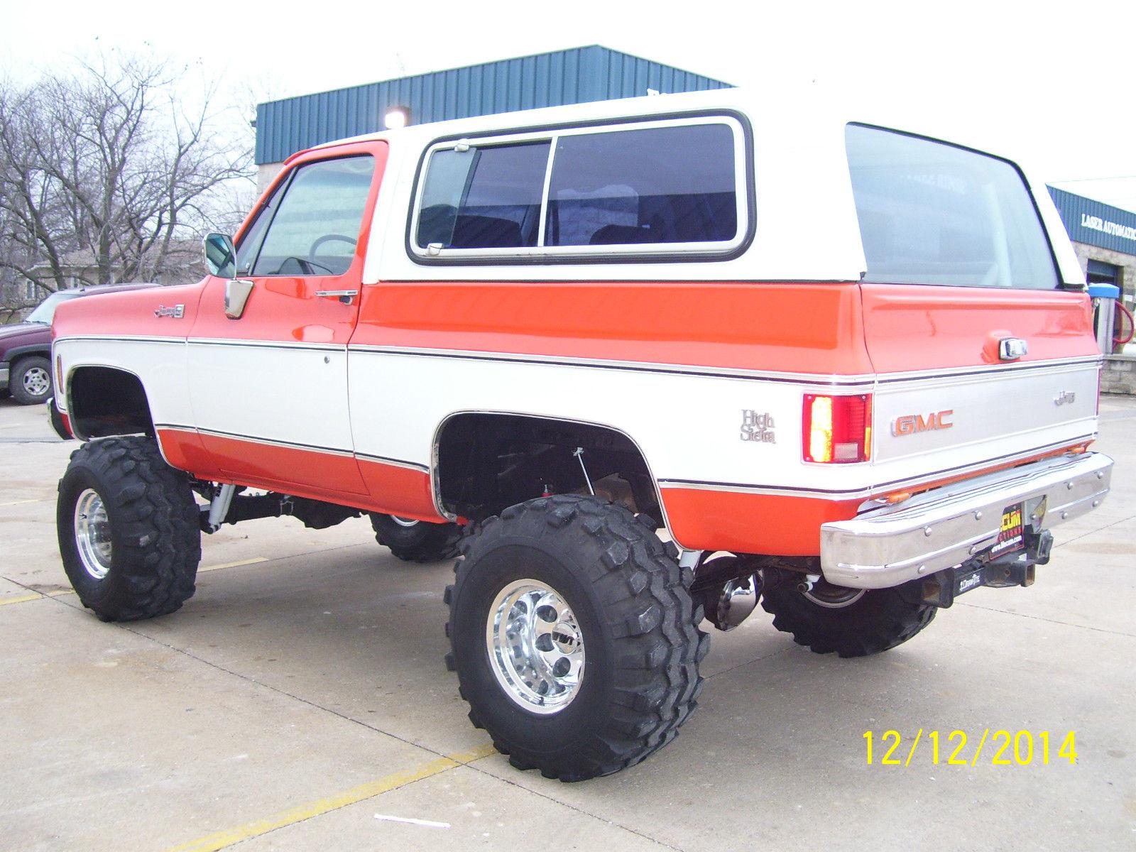 1979 GMC Jimmy High Sierra Sport Utility 2-Door 383 Stroker
