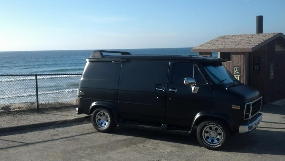 1979 Hot Rod Black Gmc Shorty Van Modeled After The A Team