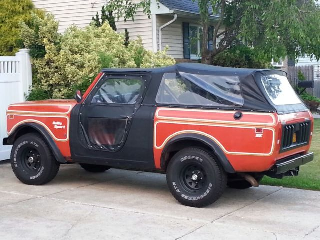 1979 International Scout Ii Ss2 Sport Utility 2 Door 5 6l