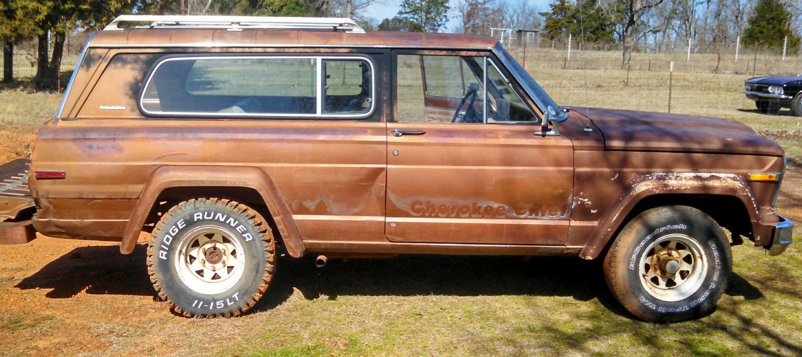 1979 jeep cherokee chief s 2 door classic jeep cherokee 1979 for sale. Black Bedroom Furniture Sets. Home Design Ideas