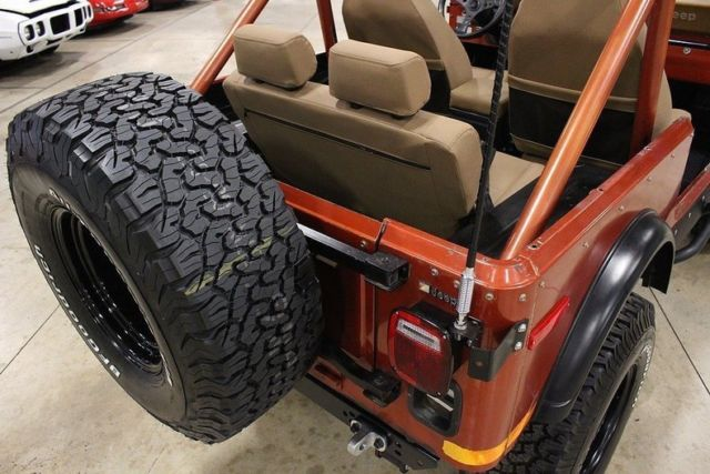 Willys Jeep For Sale >> 1979 Jeep CJ-7 Renegade 60177 Miles Russet Orange Jeep Inline 6 Manual - Classic Jeep CJ 1979 ...