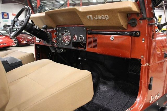 Used Cars Grand Rapids >> 1979 Jeep CJ-7 Renegade 60177 Miles Russet Orange Jeep ...
