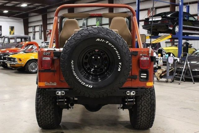 Used Cars Grand Rapids >> 1979 Jeep CJ-7 Renegade 60177 Miles Russet Orange Jeep ...