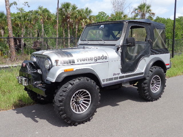 1979 jeep cj5 25th silver anniversary edition 1 owner florida cj5 real clean classic jeep. Black Bedroom Furniture Sets. Home Design Ideas