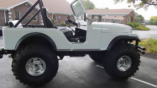 1979 Jeep Cj5 All Fiberglass Body Garage Kept Never