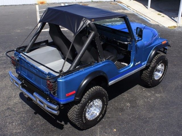 Lifted Jeep Renegade >> 1979 Jeep CJ5 Renegade 1 Miles Blue V8 Manual - Classic Jeep CJ 1979 for sale