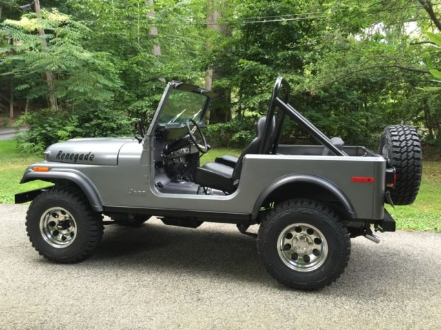 Jeep Renegade Color >> 1979 Jeep CJ7, beautiful rust free and restored - Classic Jeep Renegade 1979 for sale
