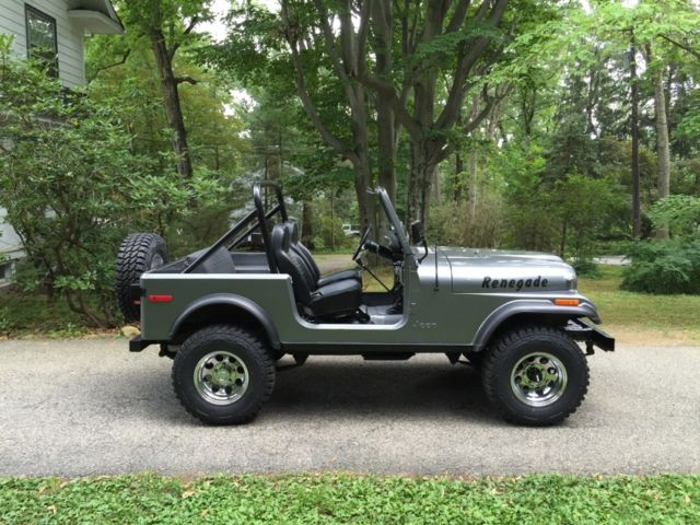 1979 Jeep CJ7 Beautiful Rust Free And Restored