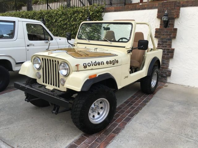 1979 jeep cj7 golden eagle levi 39 s edition passed ca smog classic jeep cj 1979 for sale. Black Bedroom Furniture Sets. Home Design Ideas