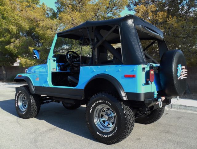 1979 Jeep Cj7 Restored V8 Motor 4 Wheel Drive Show Amp Go