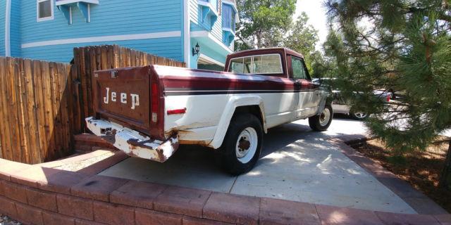 Jeep J20 For Sale >> 1979 JEEP J20 3/4 ton 4x4 - Classic Jeep J20 1979 for sale