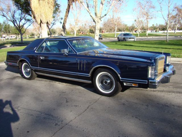 1979 Lincoln Continental Mark V Collector Quot S Series 12k