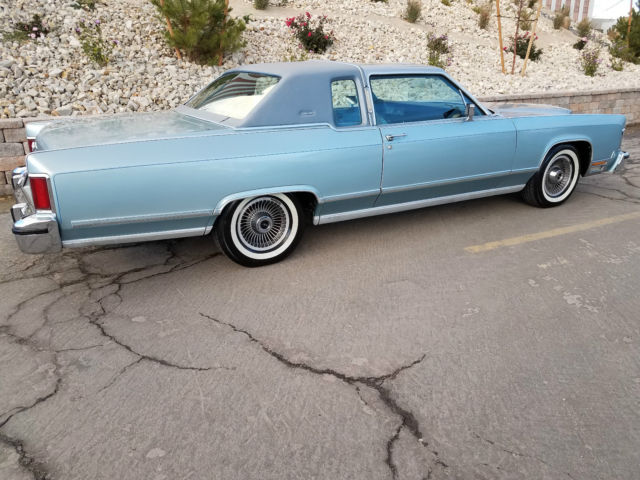 1979 Lincoln Continental Town Coupe With Extremely Low Original