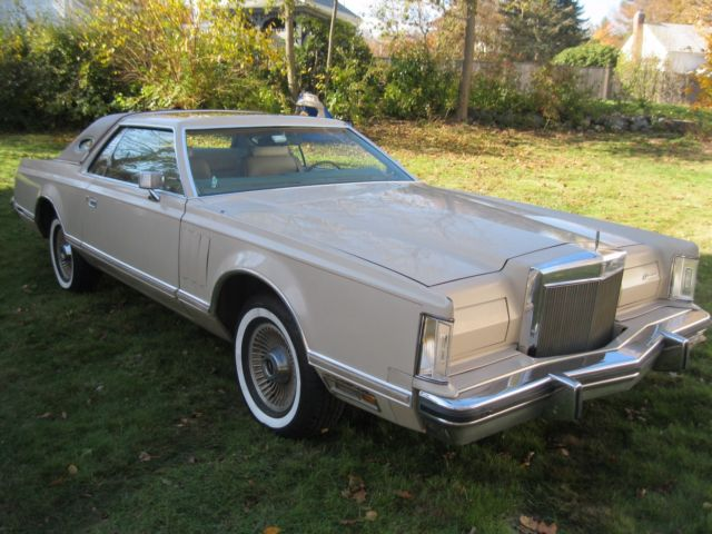1979 Lincoln Mark V Cartier Collectors Series Hot Rod Lincoln
