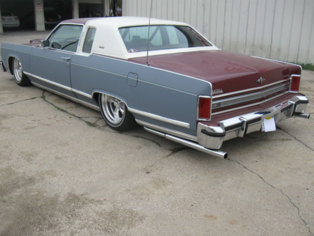1979 Lincoln Town Coupe Rat Rod Hot Rod Slammed Bagged Low Rider Classic Lincoln Other 1979