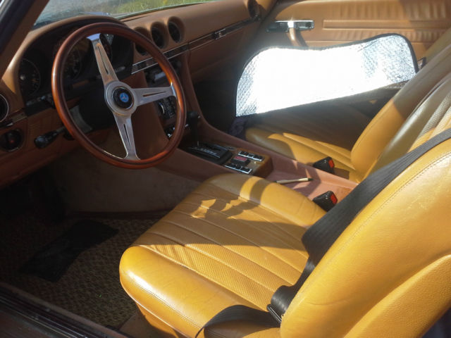 1979 mercedes benz 450 slc rare 4 seat 47k miles all for Mercedes benz seats for sale