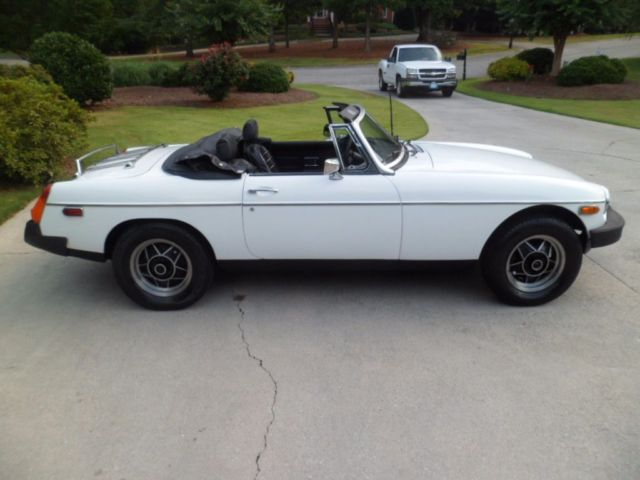 370607 1979 Mg Mgb Convertible 18 Liter Engine 4 Speed Trans California Car Both Tops on 1979 mgb roadster