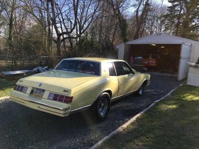 1979 monte carlo - Classic Chevrolet Monte Carlo 1979 for sale