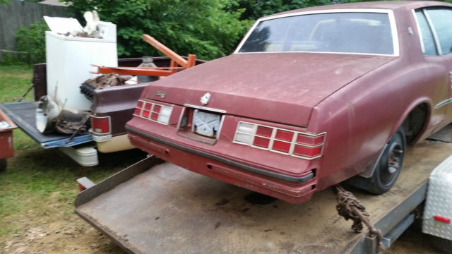 1979 Monte Carlo Project With Another 1979 Monte Carlo For Parts Classic Chevrolet Monte Carlo