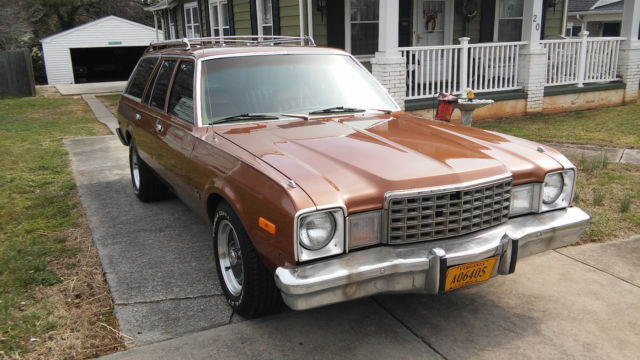 1979 Plymouth Volare Base Wagon 4-Door 5.2L - Classic ...