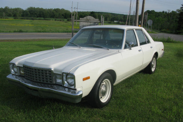 1979 Plymouth Volare Pursuit Police Car, E58, D36, 360-V8 ...