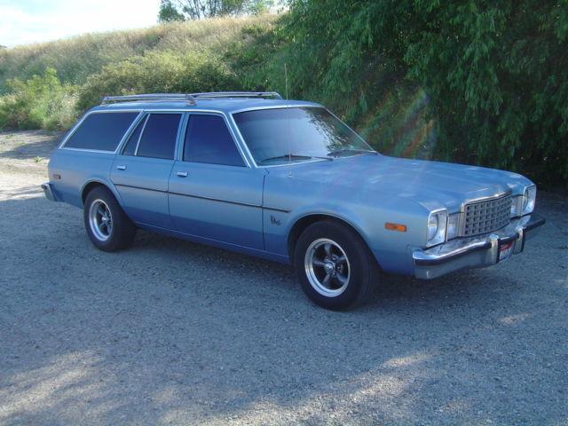 1979 Plymouth Volare Wagon Super 6 Auto Air Solid