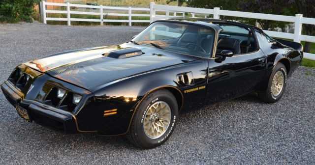 1979 pontiac firebird trans am smokey and the bandit car black on black classic pontiac. Black Bedroom Furniture Sets. Home Design Ideas