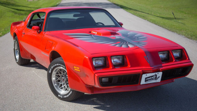 1979 Pontiac Trans Am 52616 Miles Mayan Red Coupe Pontiac ...