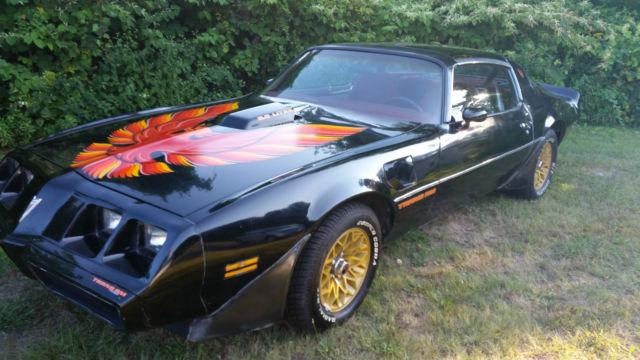 1979 Pontiac Trans Am T Tops 403 Automatic Black Red